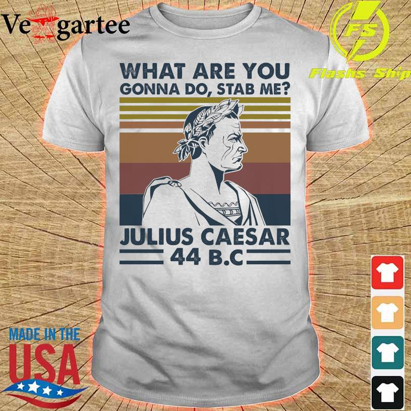 what are You Gonna do stab me Julius Caesar 44B.C vintage shirt