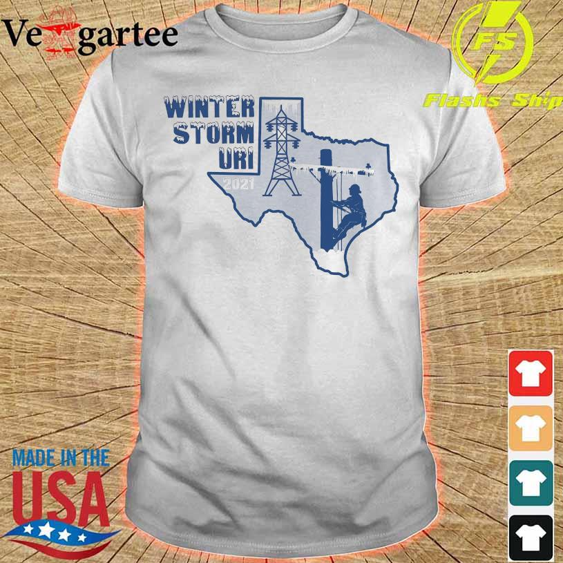 Winter storm Uri 2021 shirt