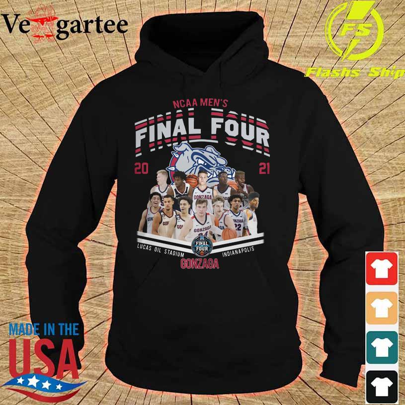 NCAA Men's Final Four 2021 Lucas Oil Stadium Indianapolis Gonzaga Bulldog hoodie