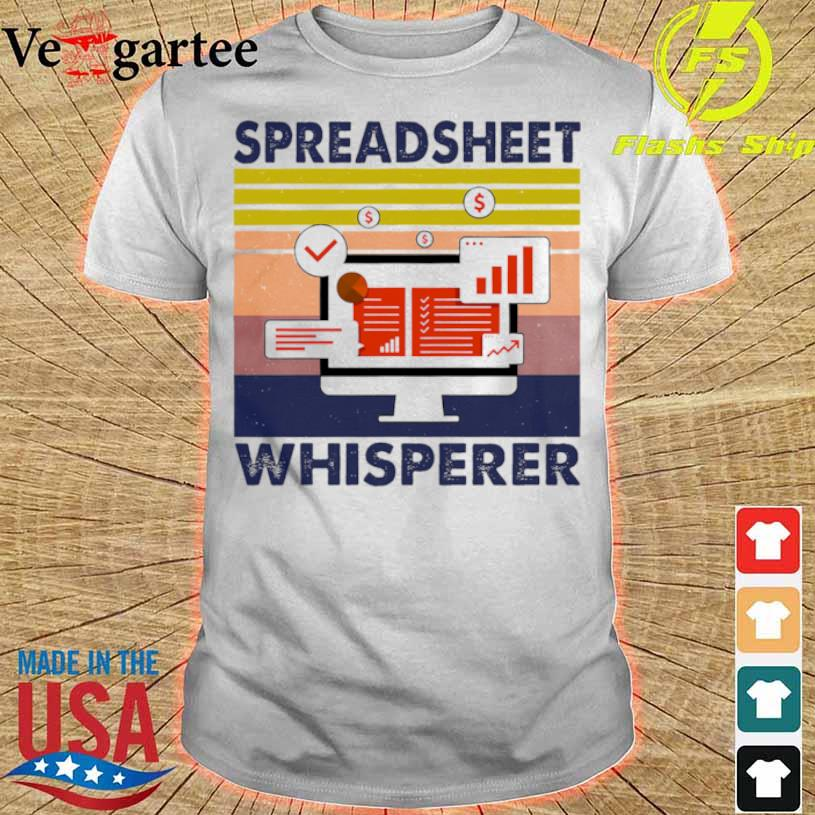 Spreadsheet Whisperer Vintage Shirt
