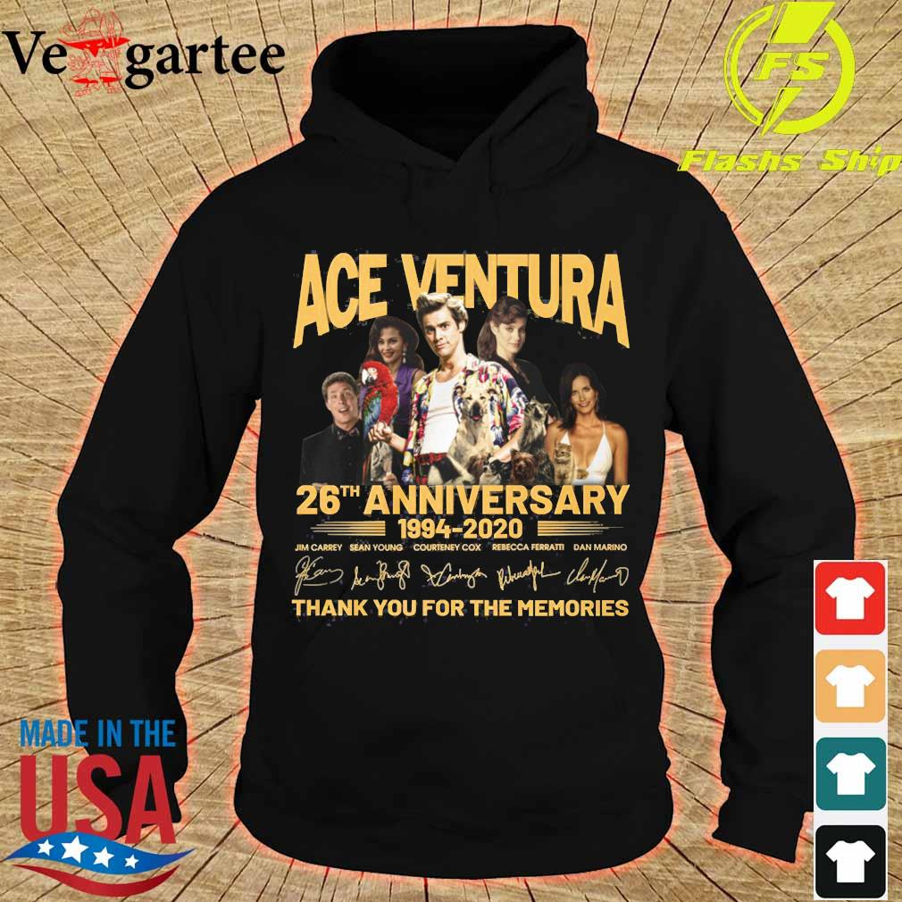 ACE Ventura 26th anniversary 1994 2020 thank You for the memories signatures s hoodie