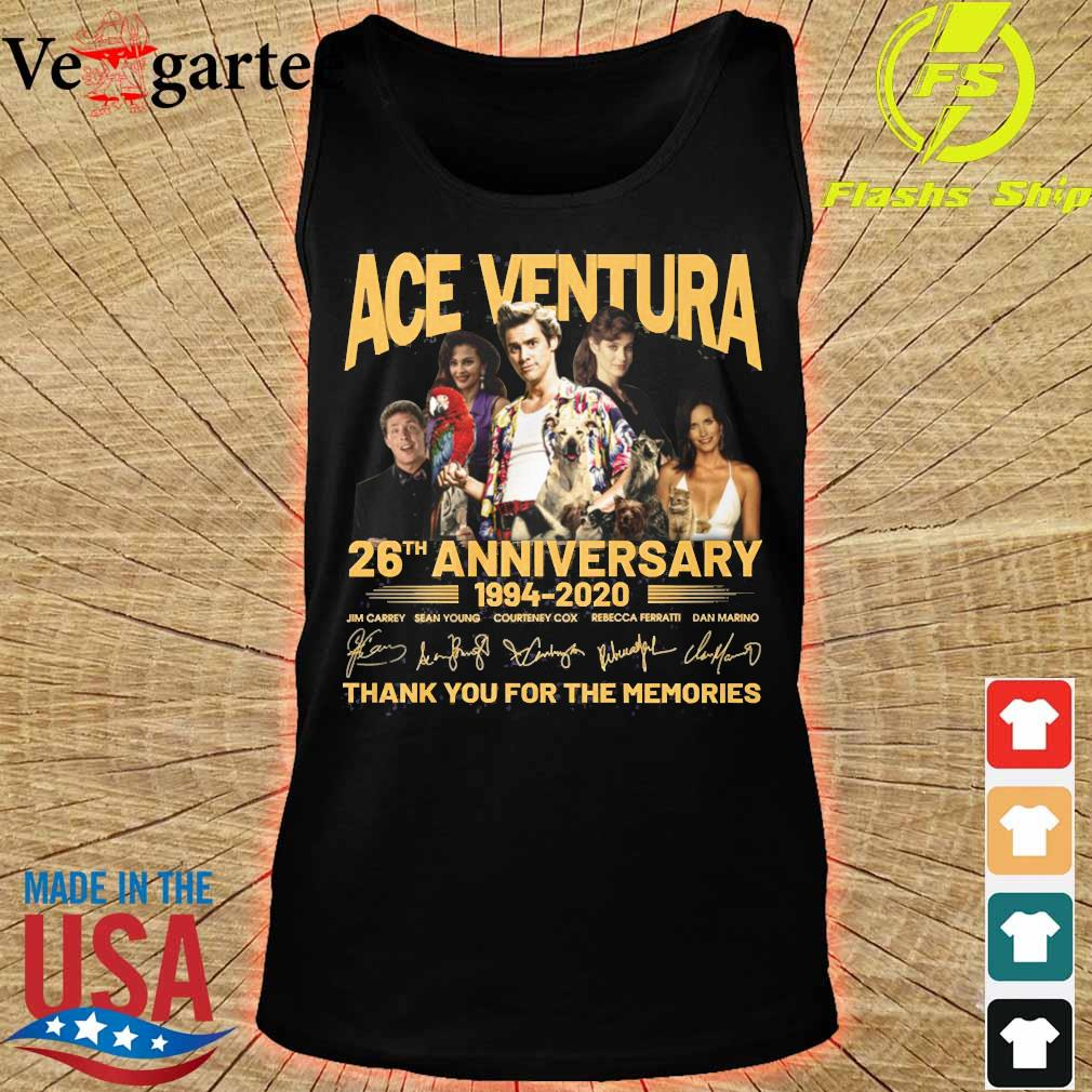 ACE Ventura 26th anniversary 1994 2020 thank You for the memories signatures s tank top