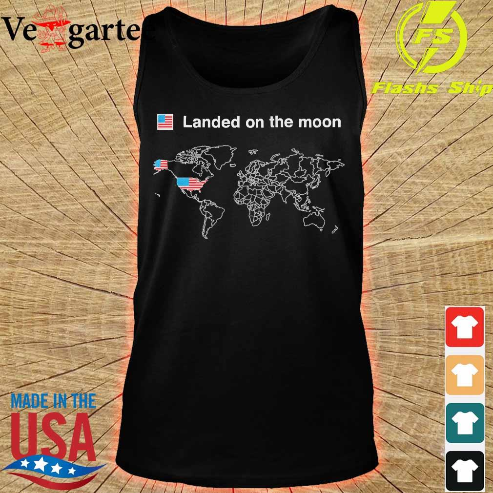 America landed on the moon s tank top