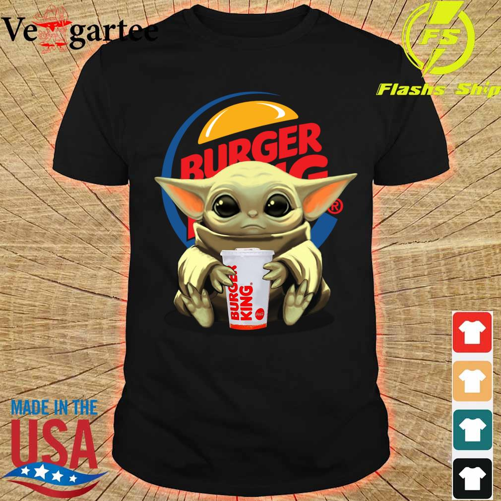 Baby Yoda Hug Burger King Shirt
