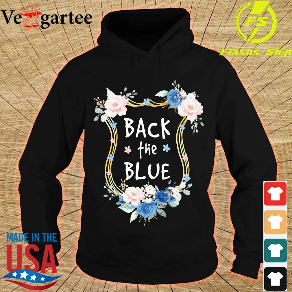 Back the Blue s hoodie