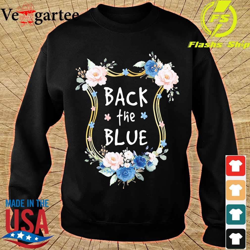 Back the Blue s sweater