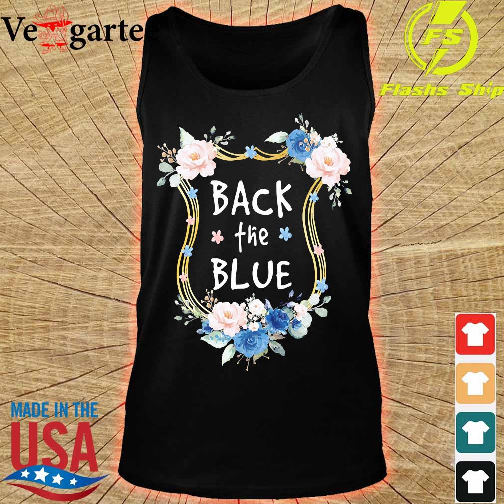 Back the Blue s tank top