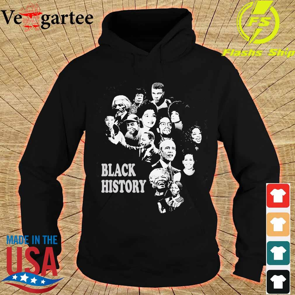 Black History Month Famous Characters s hoodie