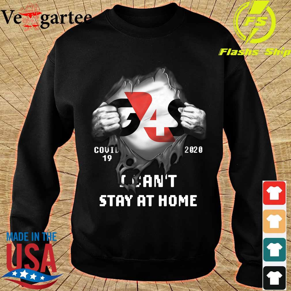 Blood inside me G4S Company covid-19 2020 I can't stay at home s sweater