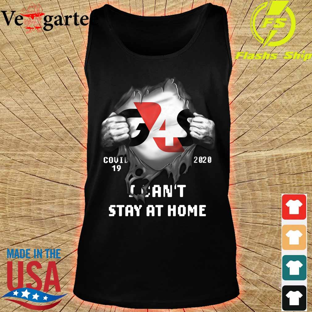 Blood inside me G4S Company covid-19 2020 I can't stay at home s tank top