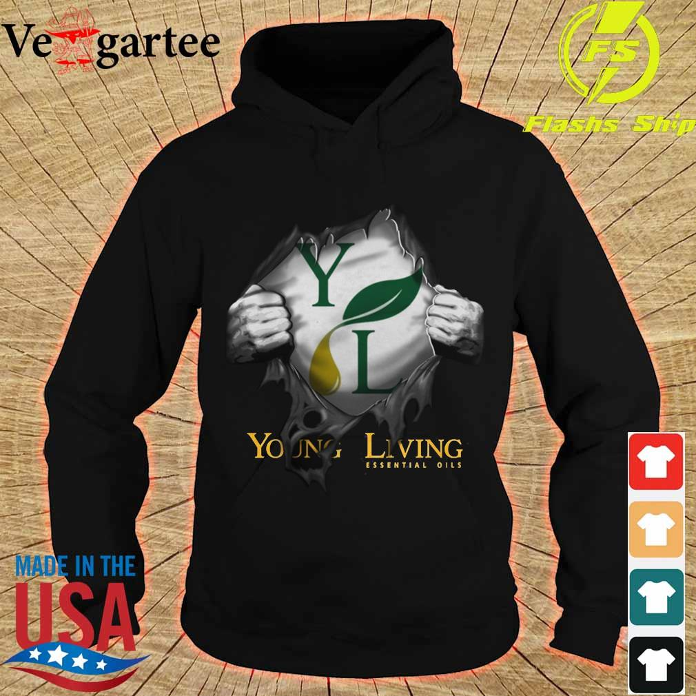 Blood inside me Young Living Essential Oils Shirt hoodie