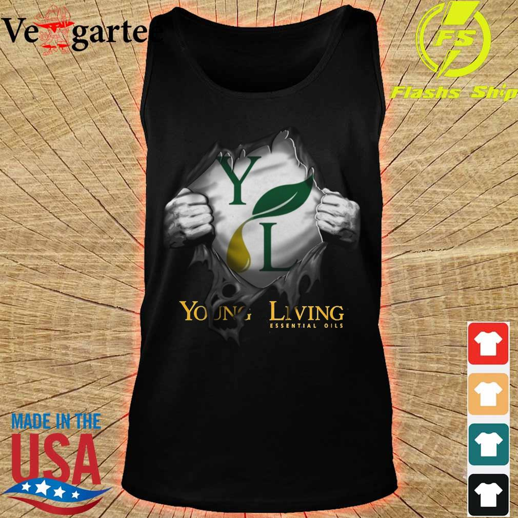 Blood inside me Young Living Essential Oils Shirt tank top