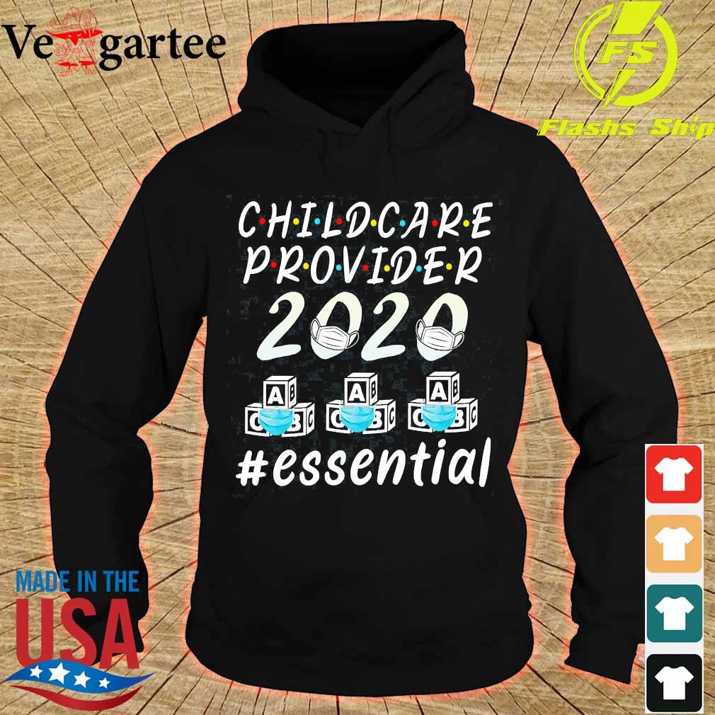 Child care provider 2020 mask ABC essential Shirt hoodie