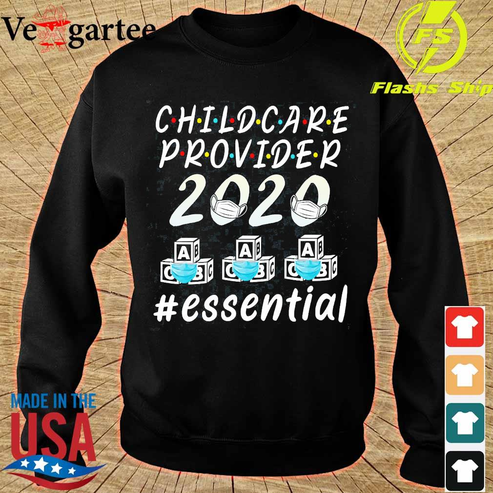 Child care provider 2020 mask ABC essential Shirt sweater