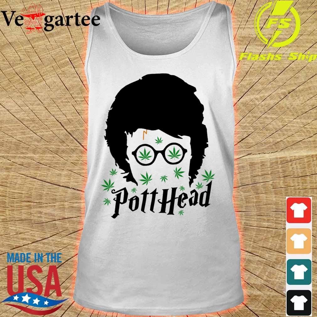Harry Potter Potthead Weed Cannabis s tank top