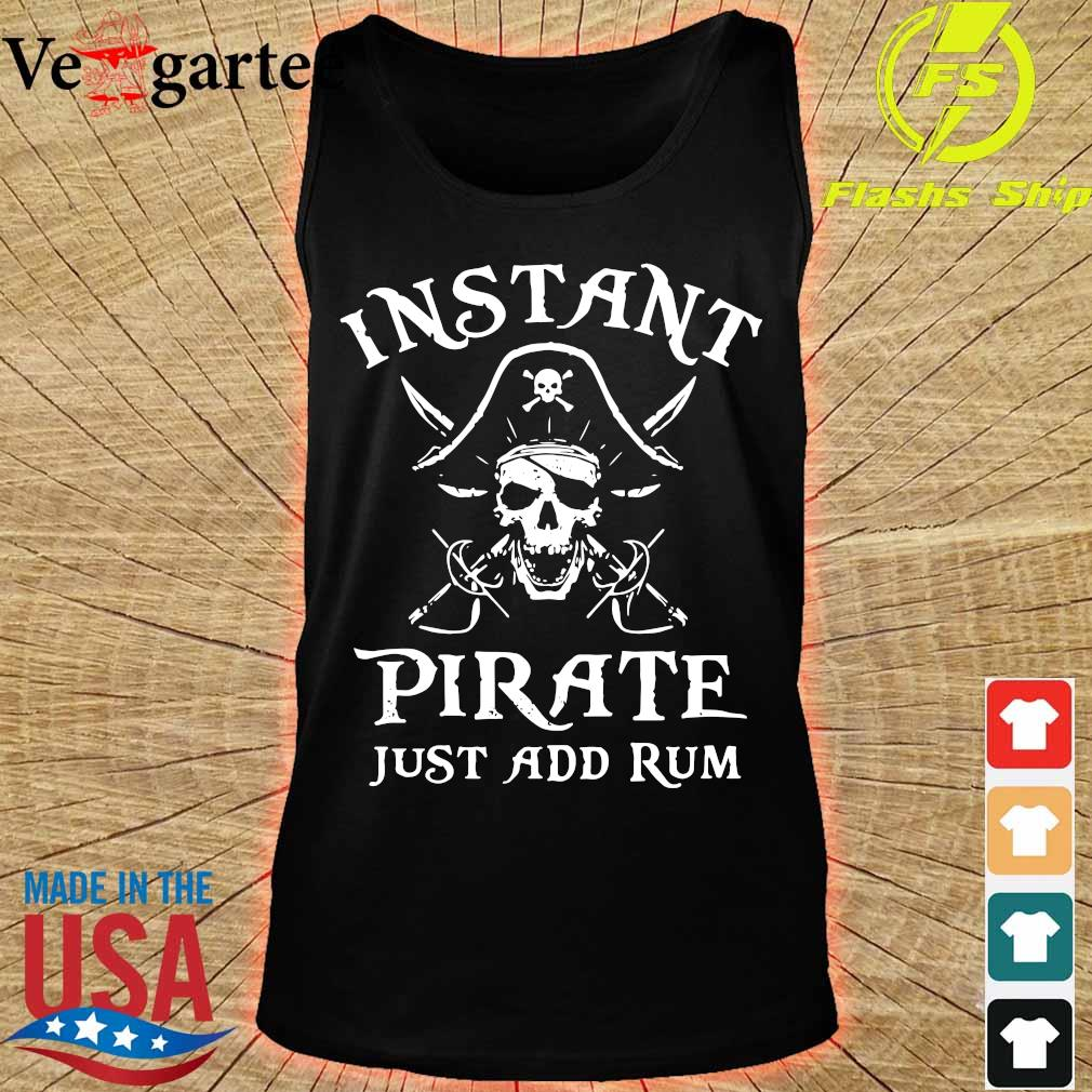 Instant pirate just add rum s tank top