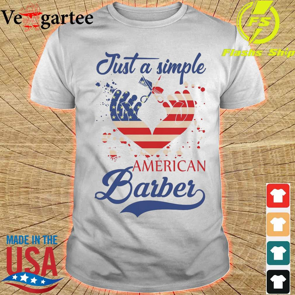 Just a simple American Barber shirt