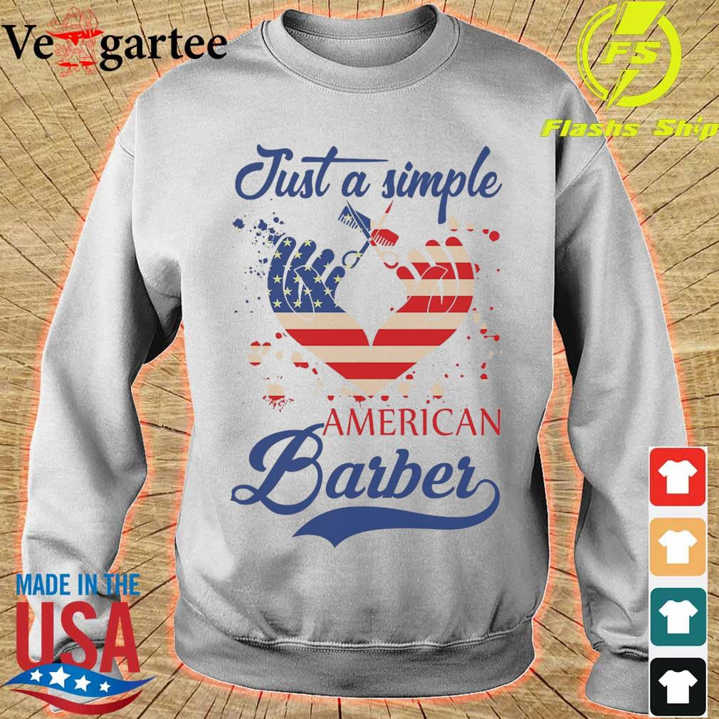 Just a simple American Barber s sweater