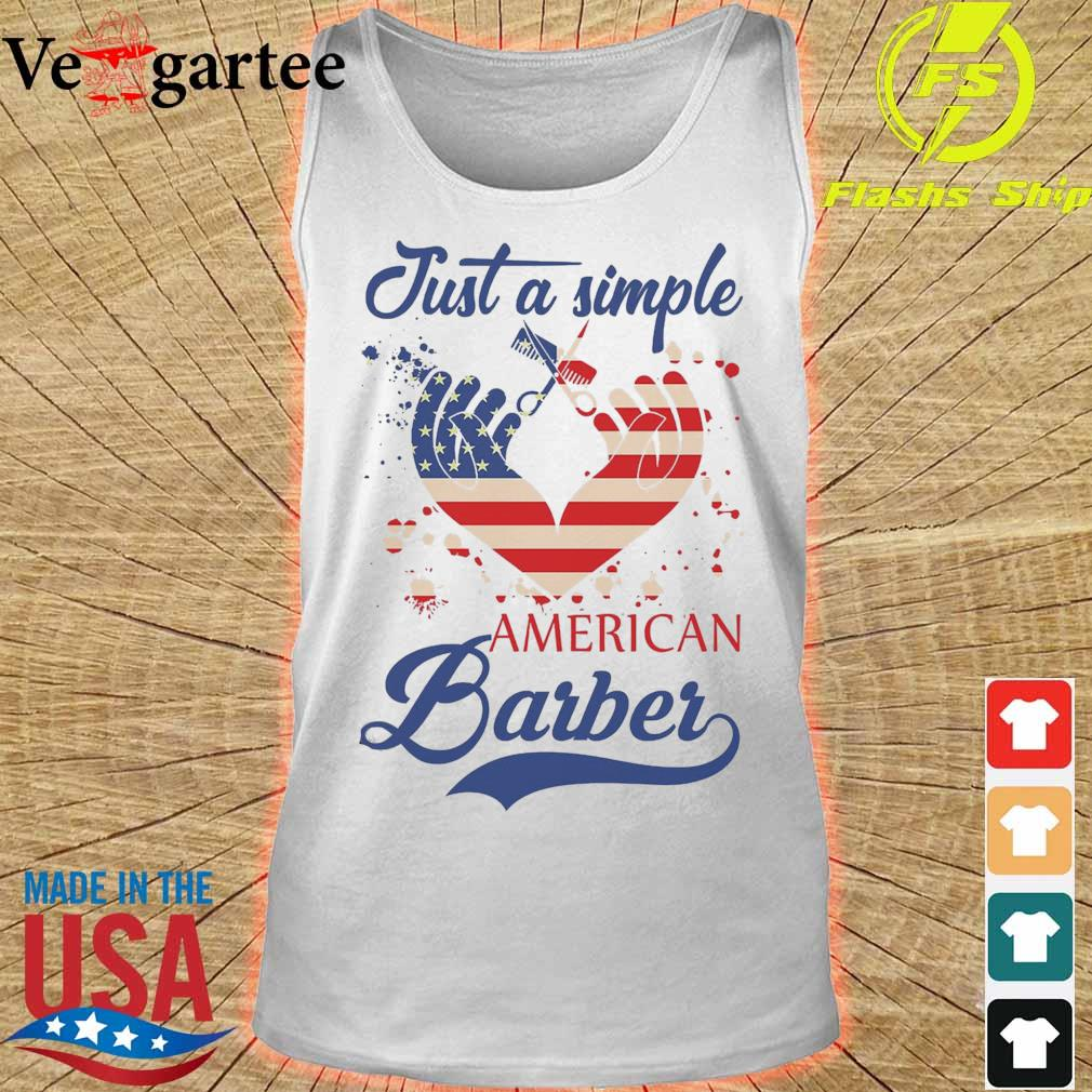 Just a simple American Barber s tank top