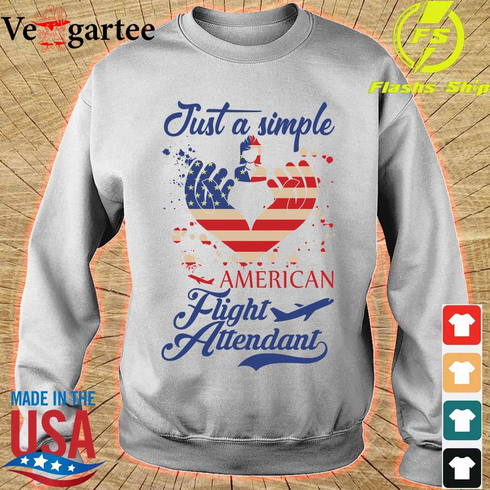 Just a simple American flight attendant s sweater