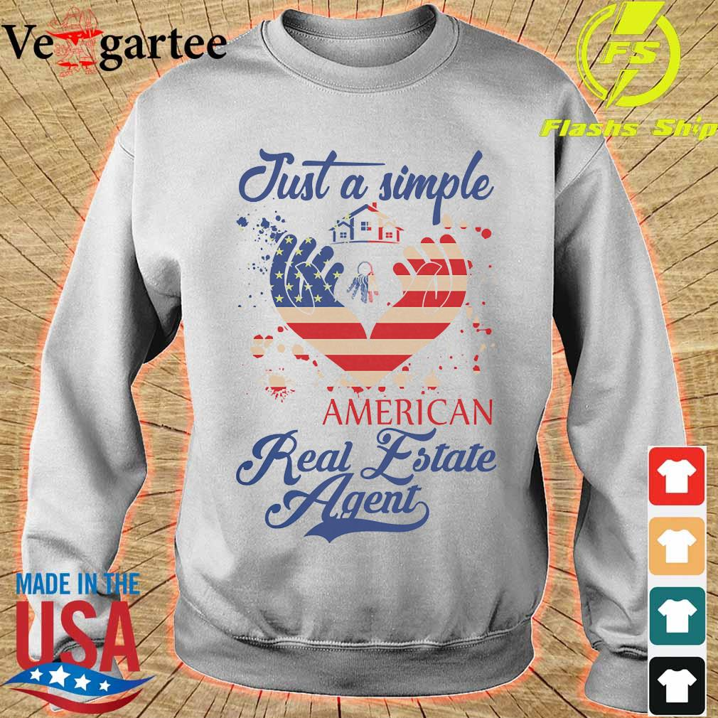 Just a simple American real estate agent s sweater