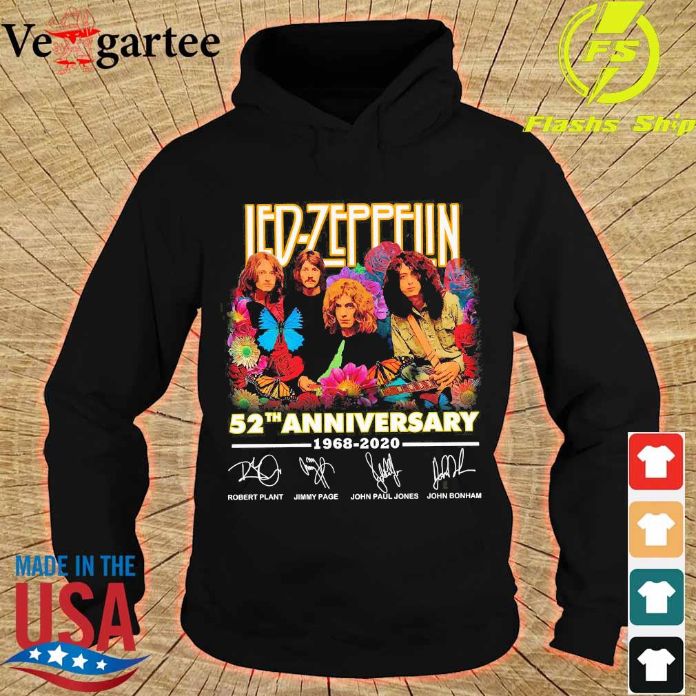 Led-Zeppelin 52th anniversary 1968 2020 signatures Shirt hoodie