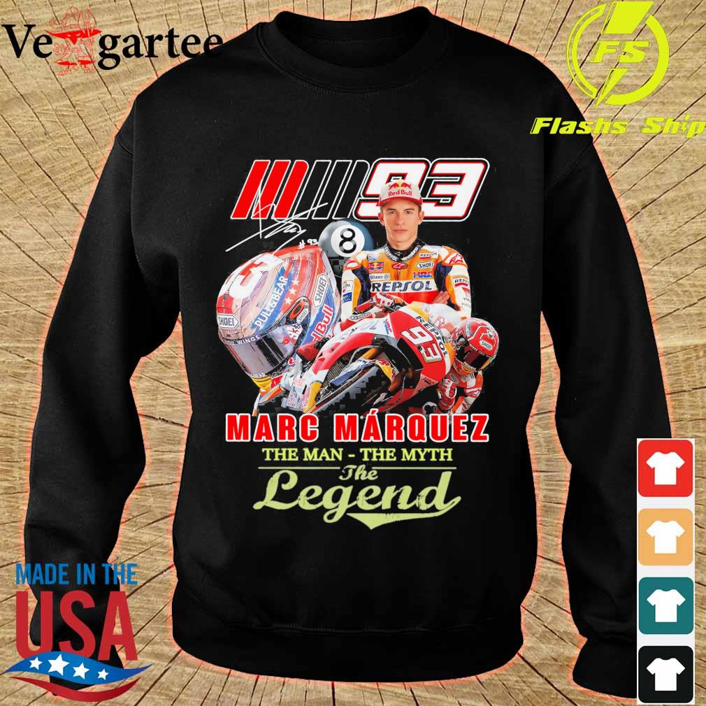 Marc Marquez the man the myth the legend signature s sweater