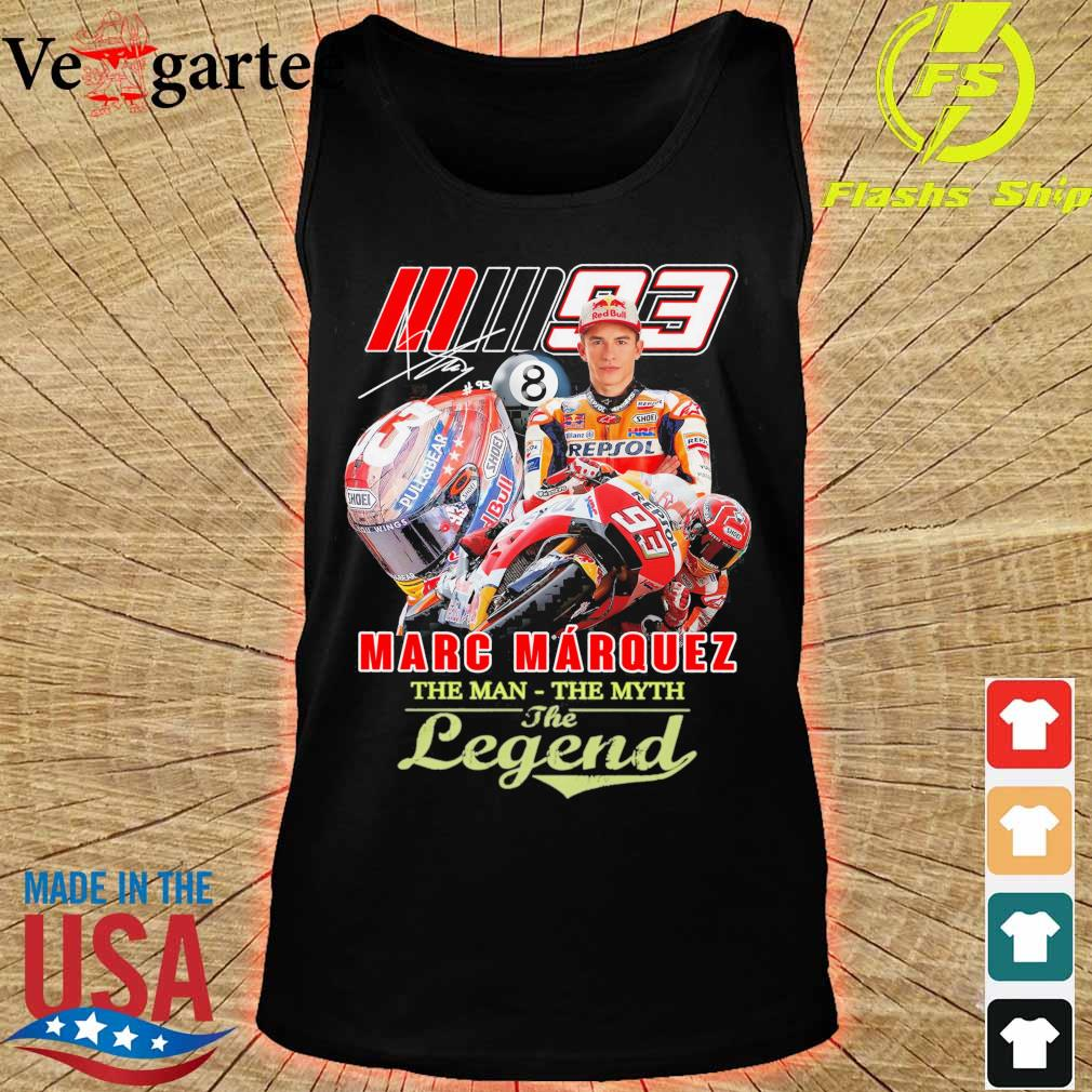 Marc Marquez the man the myth the legend signature s tank top