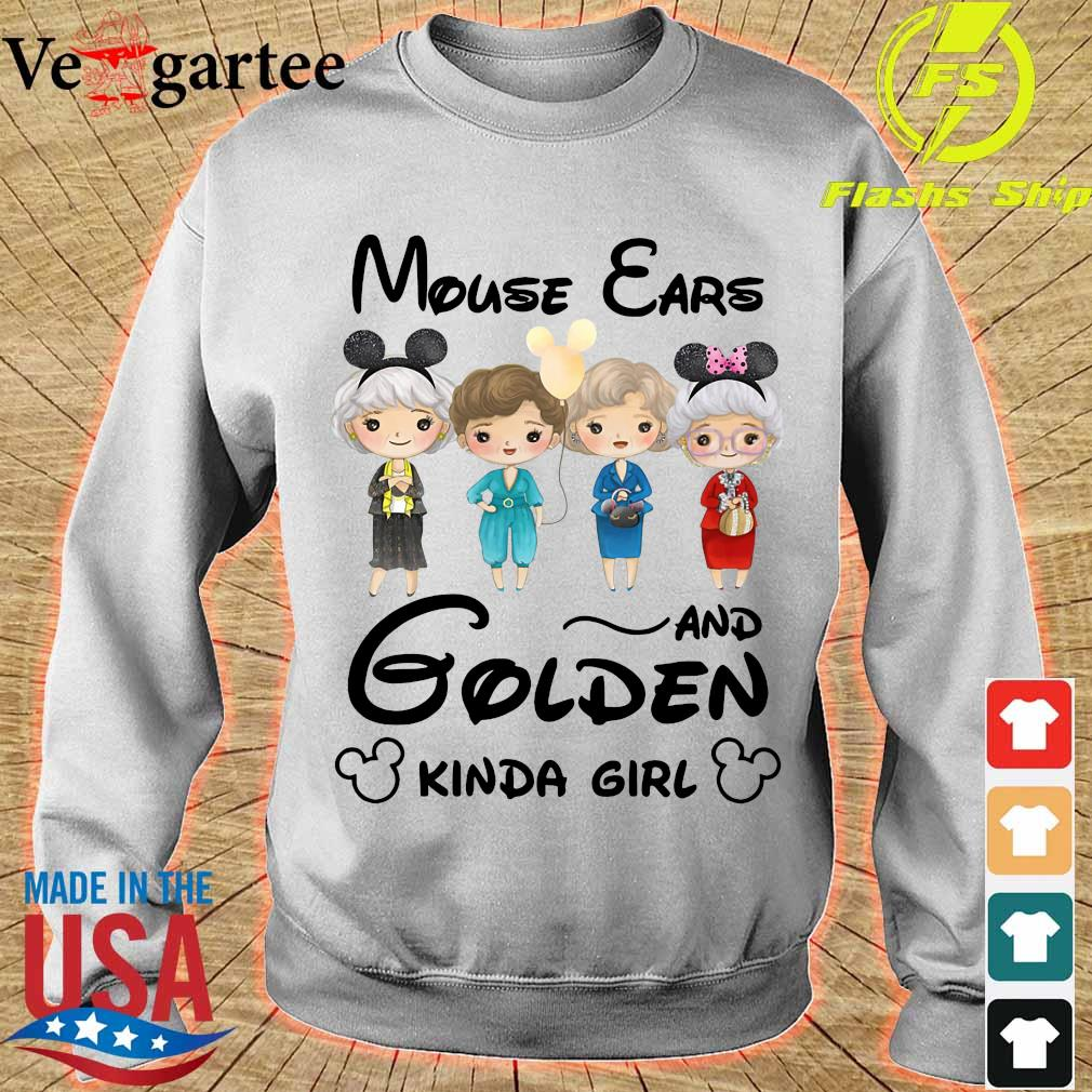 Mouse Ears and Golden Kinda girl Shirt sweater