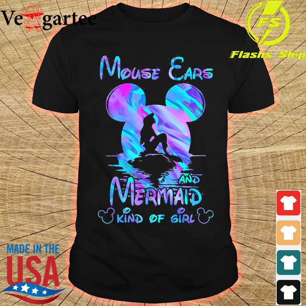 Mouse Ears and Mermaid Kind of Girl Shirt