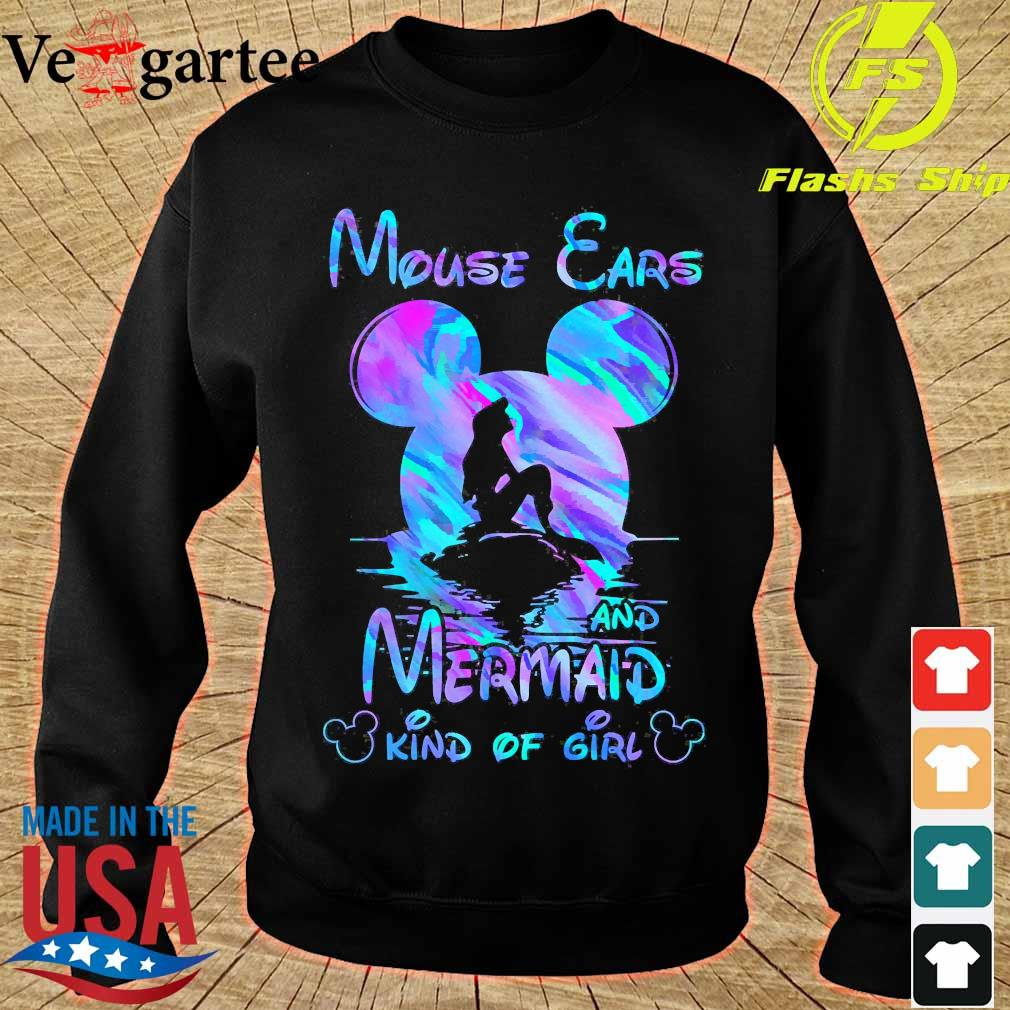 Mouse Ears and Mermaid Kind of Girl Shirt sweater