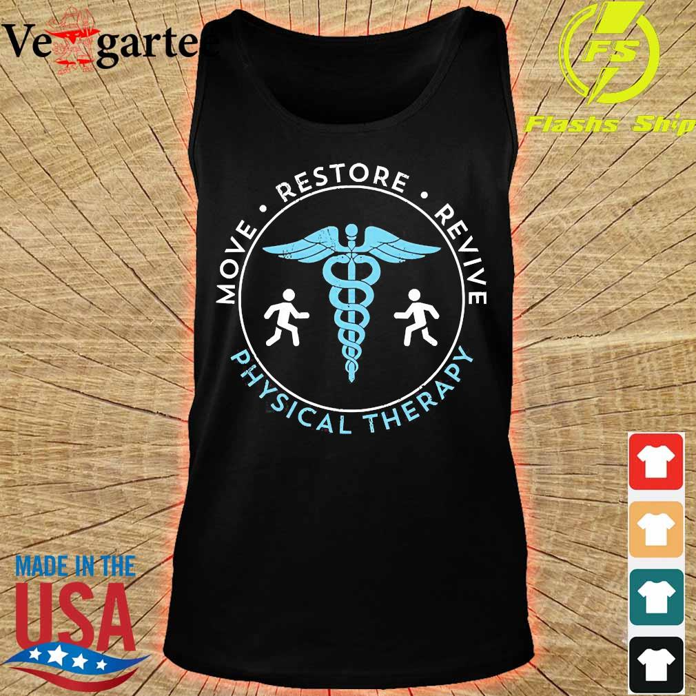 Move restore revive physical therapy s tank top