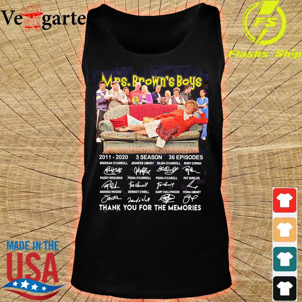 Mrs Brown's Boys 2011 2020 3 season 36 episodes thank You for the memories s tank top