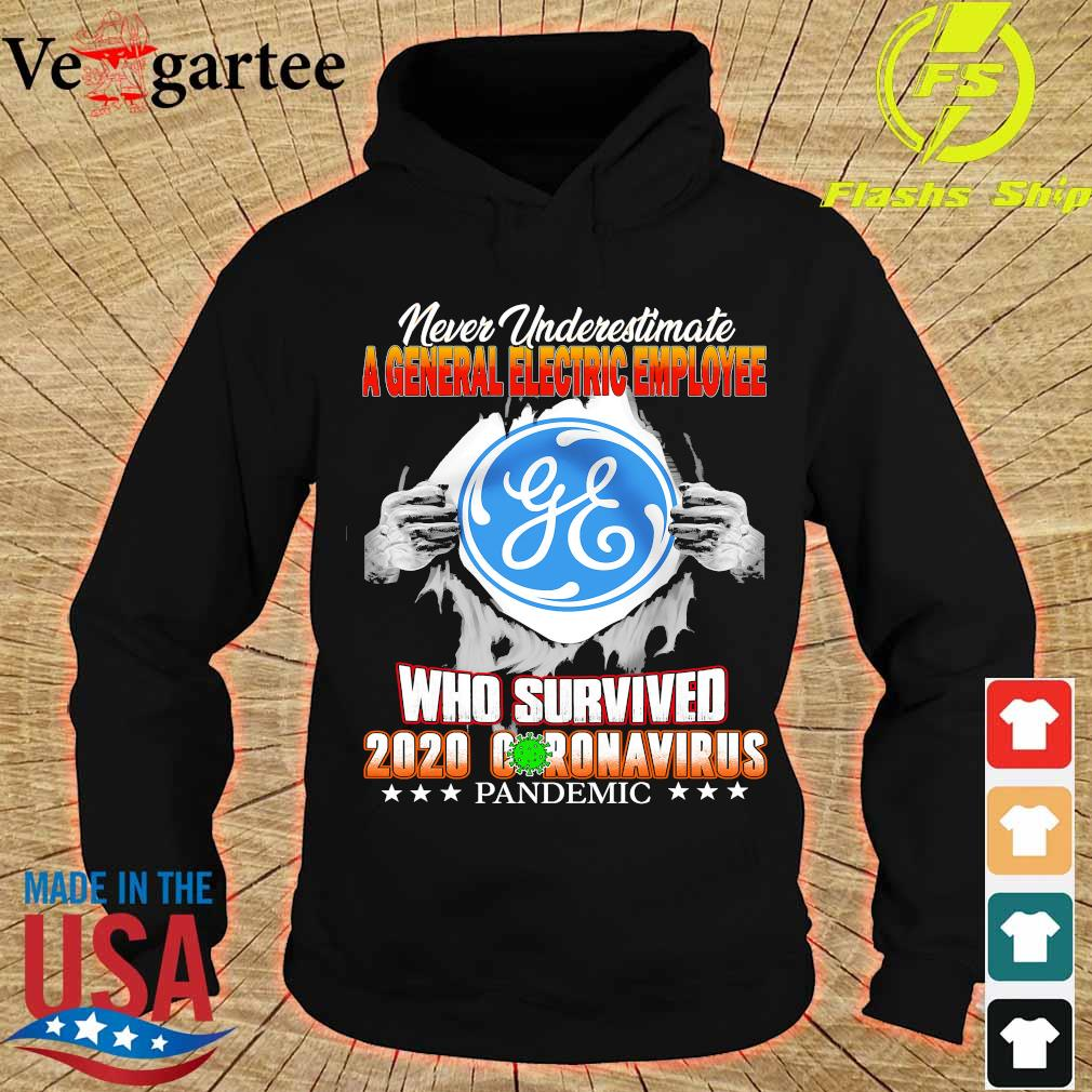 Never Underestimate A General Electric Employee Who survive 2020 coronavirus pandemic s hoodie