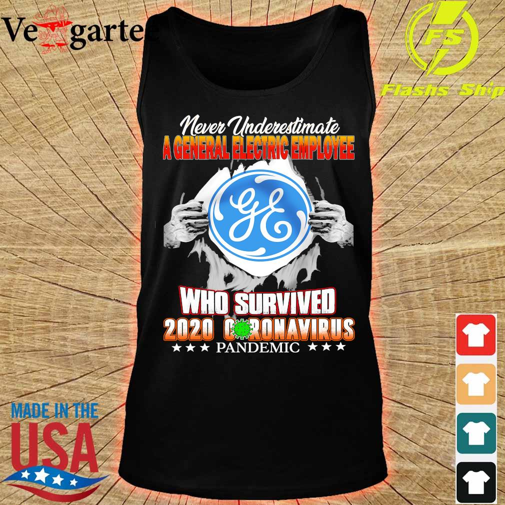 Never Underestimate A General Electric Employee Who survive 2020 coronavirus pandemic s tank top
