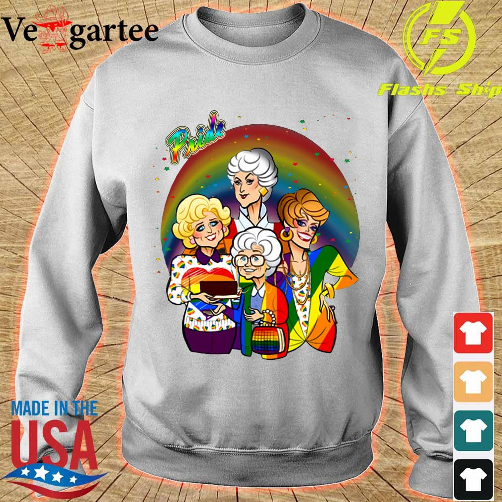 Pride the Golden Girls s sweater