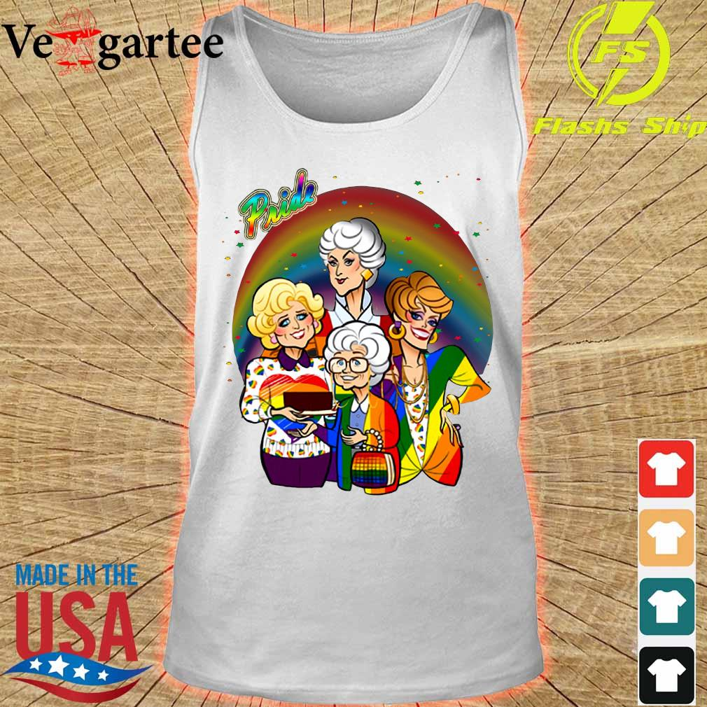 Pride the Golden Girls s tank top