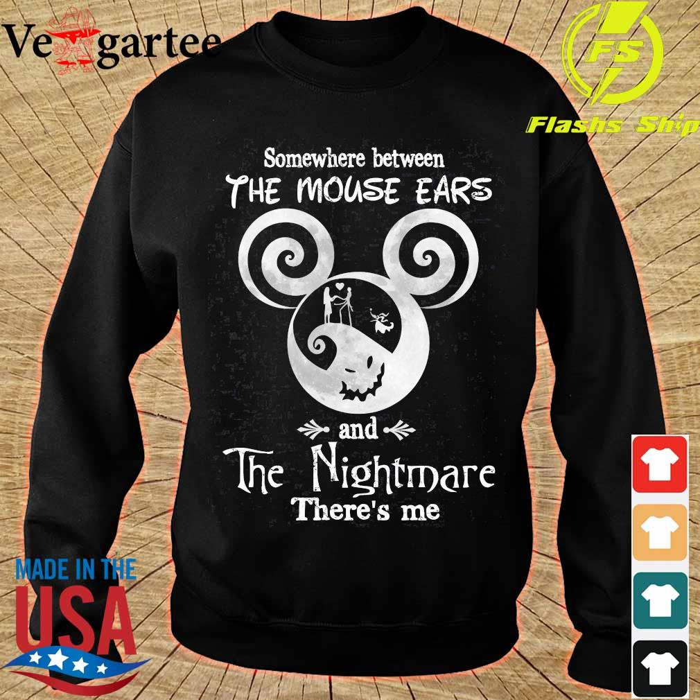 Somewhere between The Mouse Ears and The Nightmare there_s me s sweater