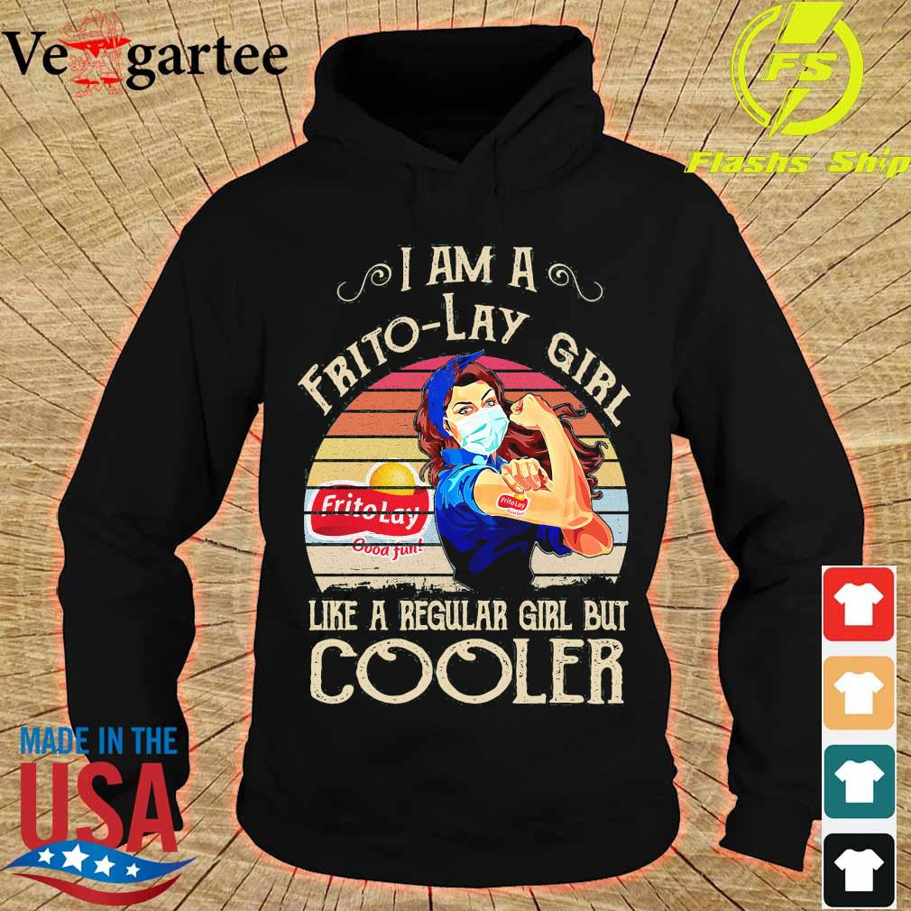 Strong girl mask I am a Frito-Lay girl like a regular girl but cooler vintage s hoodie