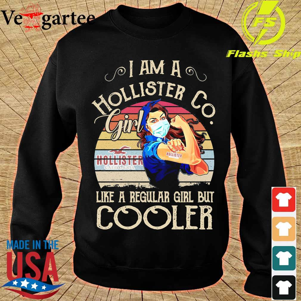Strong girl mask I am a Hollister Co girl like a regular girl but cooler vintage s sweater