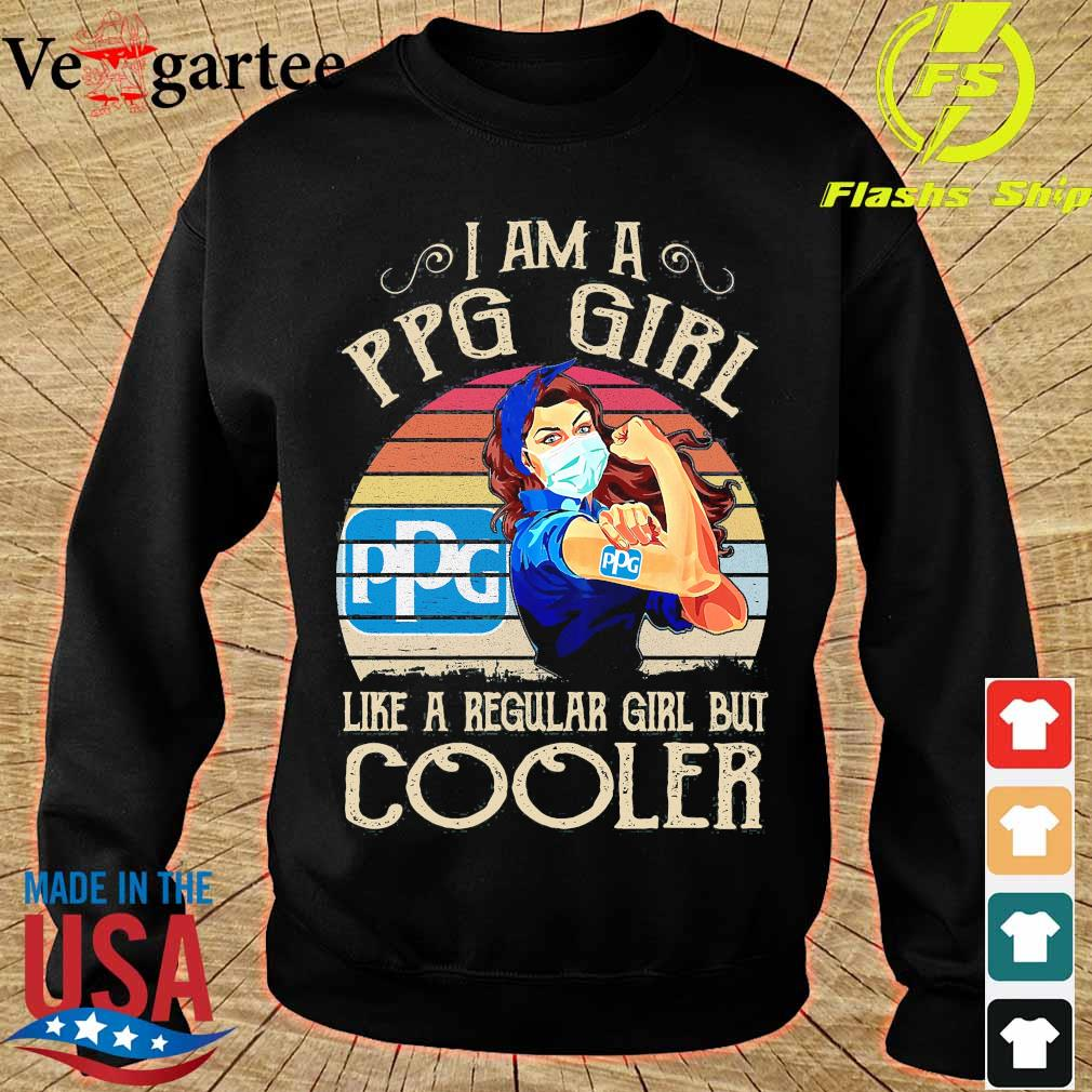 Strong girl mask I am a PPG girl like a regular girl but cooler vintage s sweater