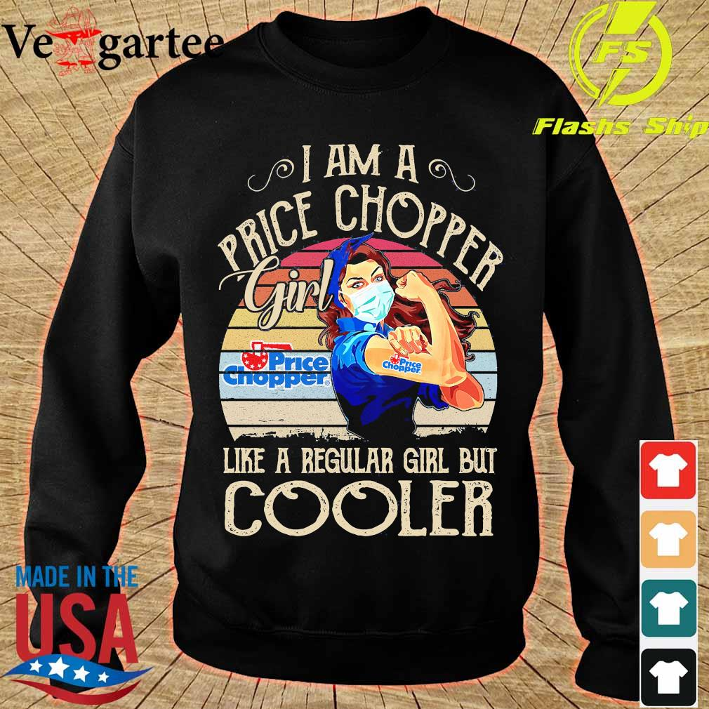 Strong girl mask I am a Price Chopper girl like a regular girl but cooler vintage s sweater