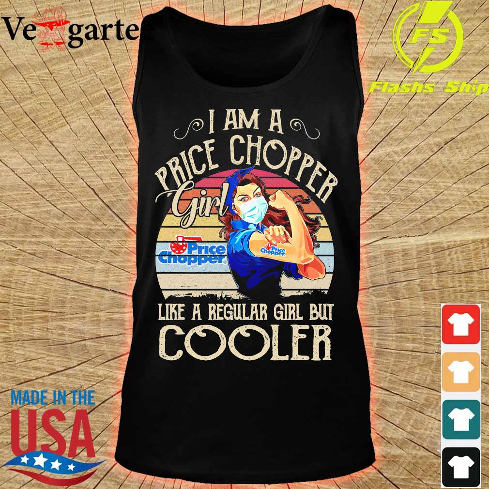 Strong girl mask I am a Price Chopper girl like a regular girl but cooler vintage s tank top