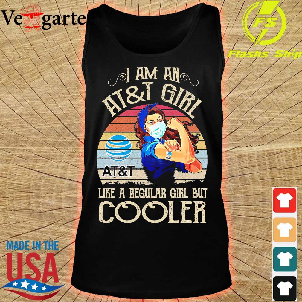 Strong girl mask I am an AT and T girl like a regular girl but cooler vintage s tank top