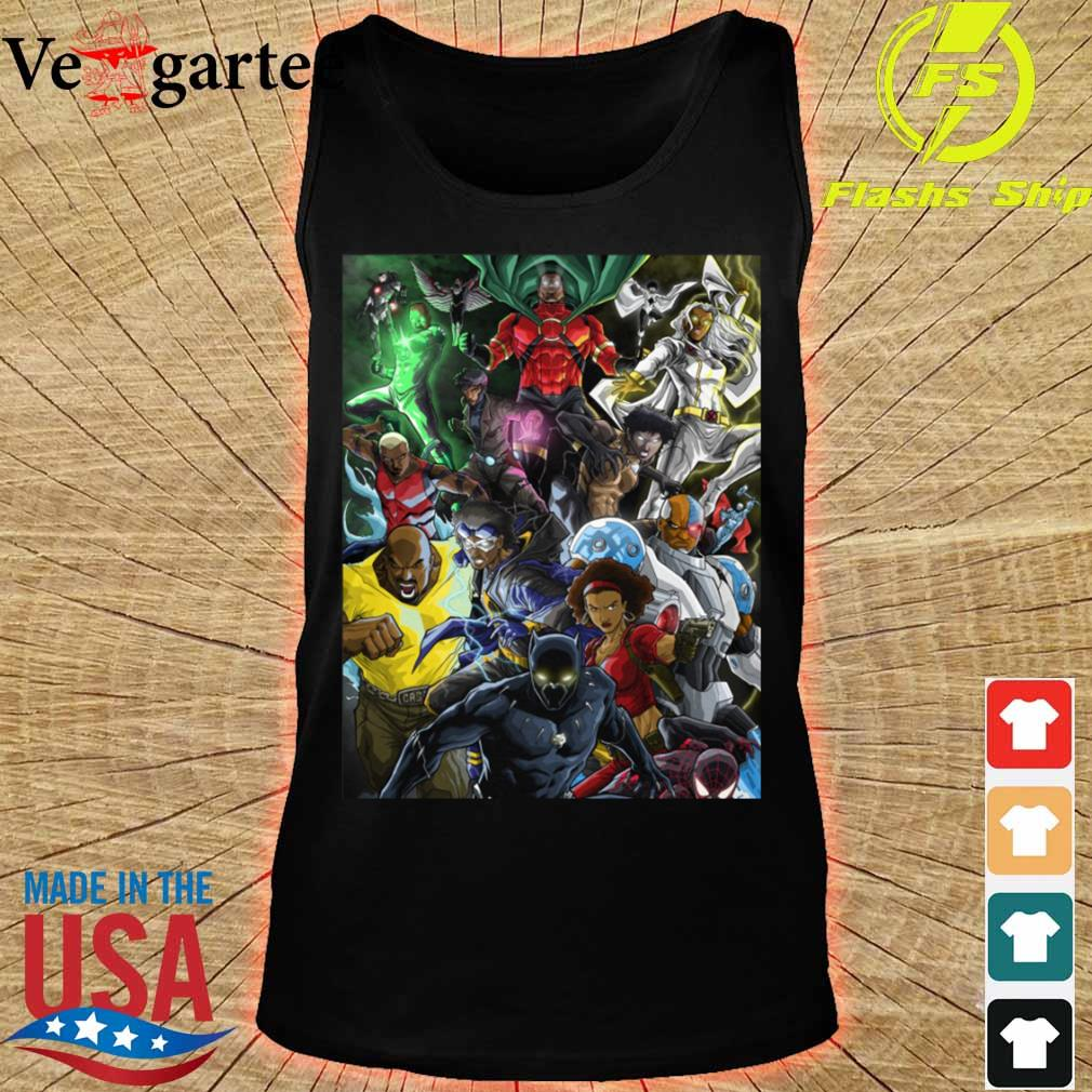 Superheroes of colour by Zack s tank top