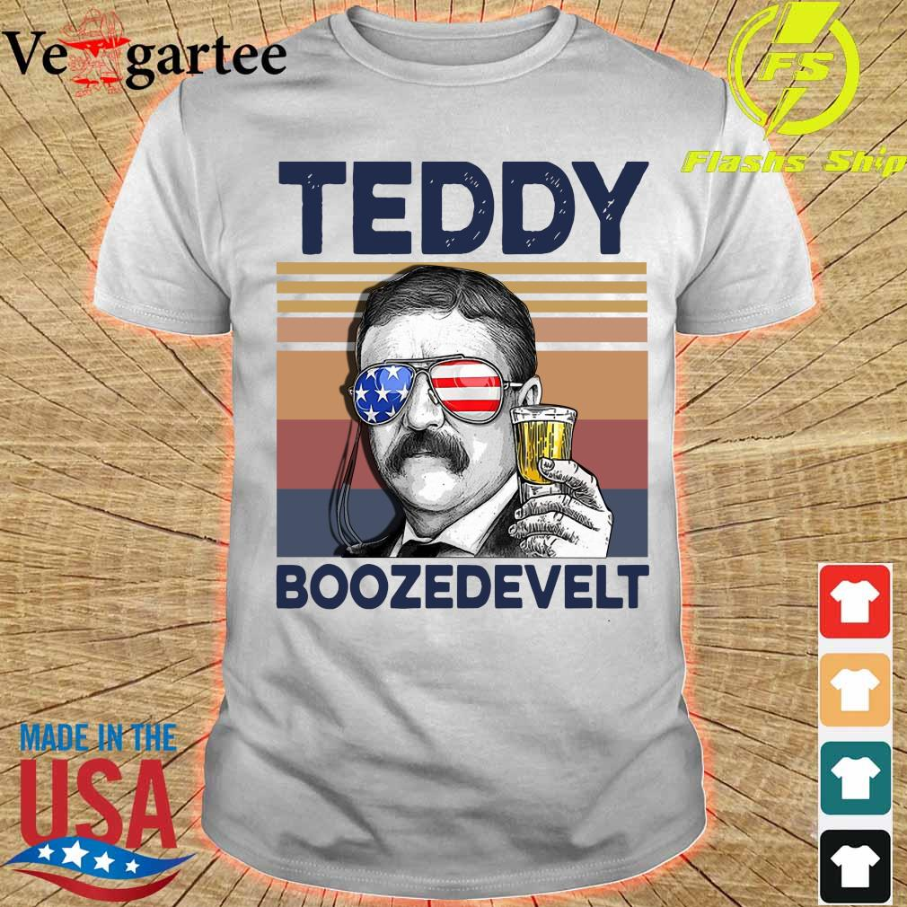 Teddy Boozedevelt Drink Beer the 4th of July vintage shirt