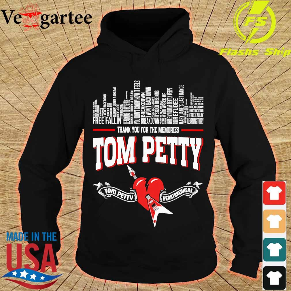 Thank You for the memories Tom Petty Shirt hoodie
