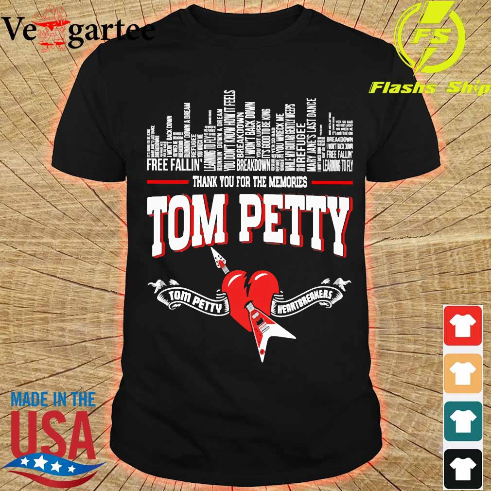 Thank You for the memories Tom Petty Shirt