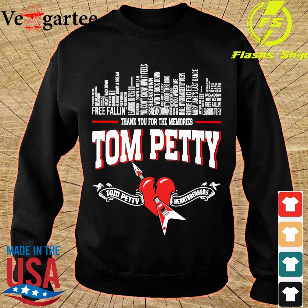 Thank You for the memories Tom Petty Shirt sweater