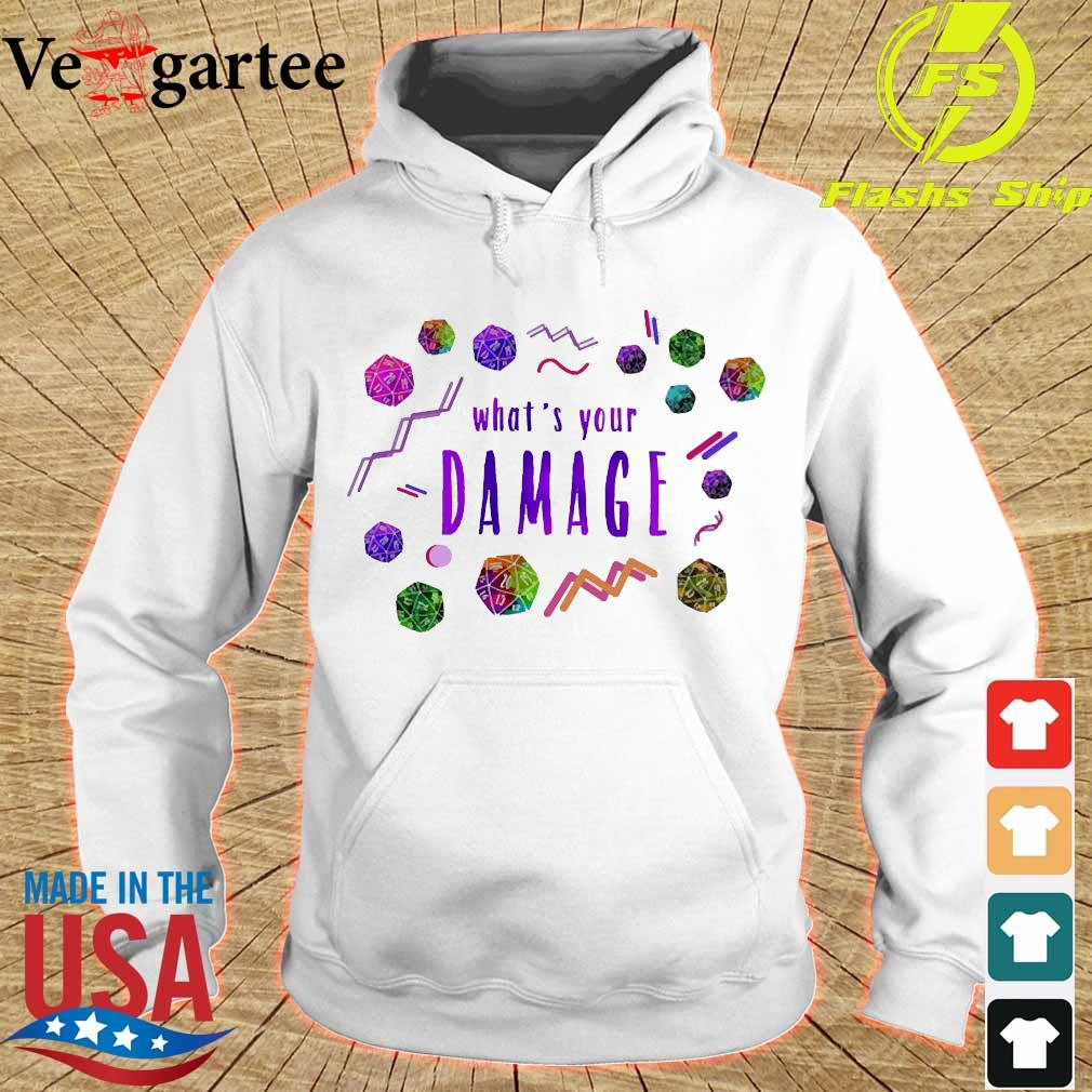 What's your Damage s hoodie